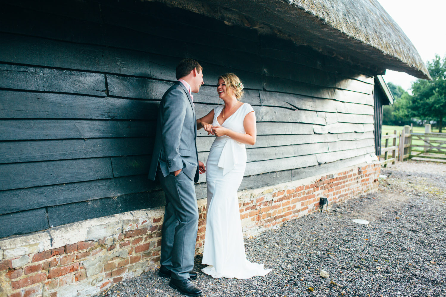 wedding photography at blackthorpe barn in suffolk