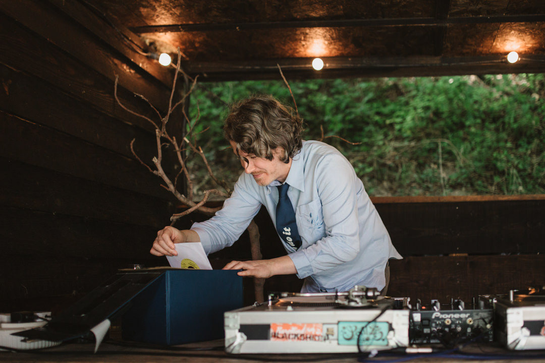 DJ Ben Marr at the keeper and the dell in norfolk