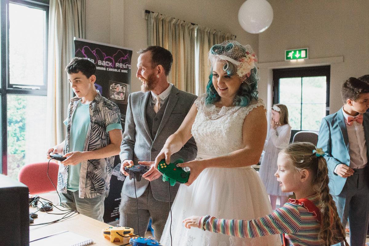 fun woodbridge wedding photography