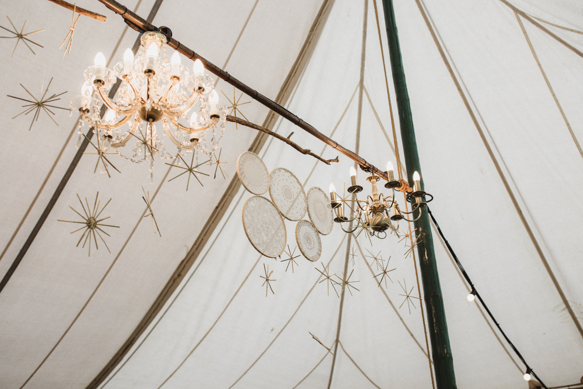 Crafty DIY The Keeper and The Dell Wedding marquee