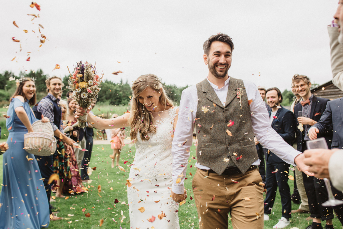 Crafty DIY The Keeper and The Dell Wedding confetti line