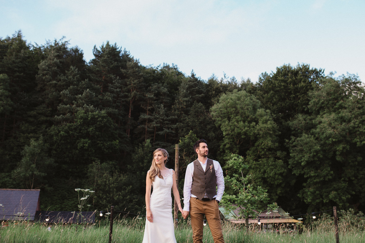 crafty diy keeper and the dell wedding couples portraits