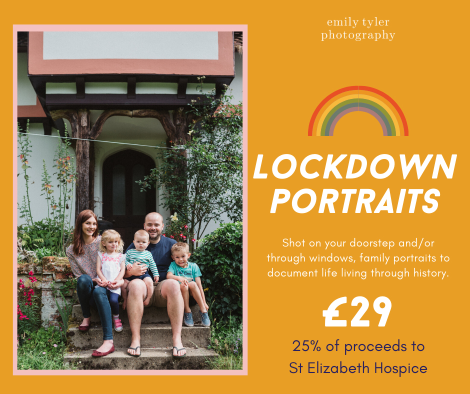 Lockdown portrait session in Ipswich Suffolk by Emily Tyler Photography